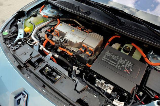 Renault Fluence Z.E. - silnik