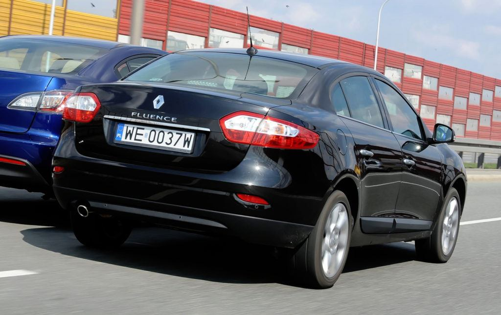 Renault Fluence - dynamiczne