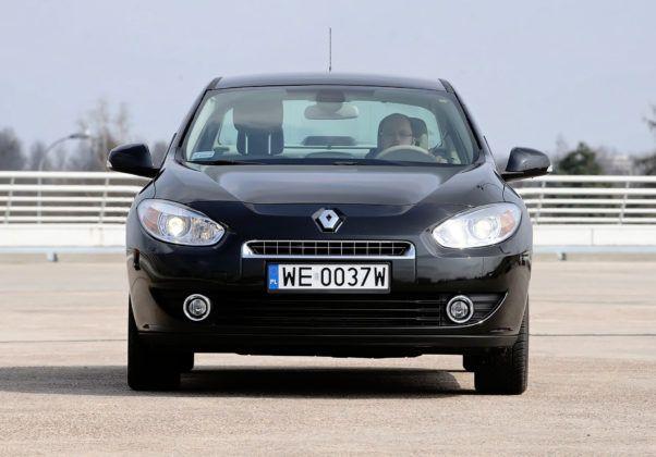 Renault Fluence - przód