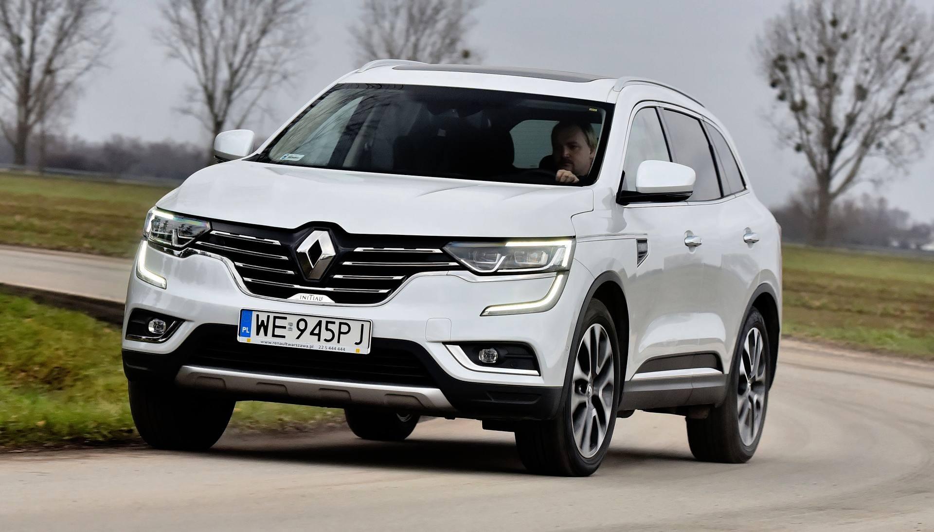 Renault Koleos - dynamiczne