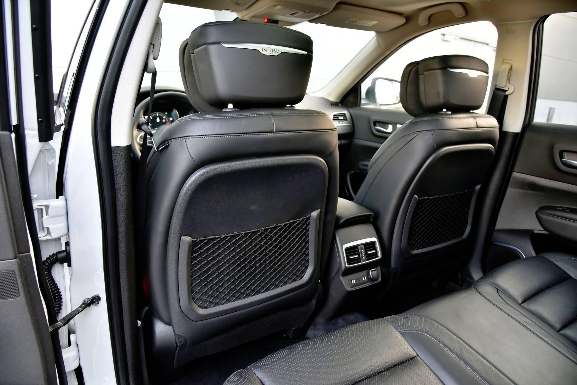 Renault Koleos - oparcia foteli
