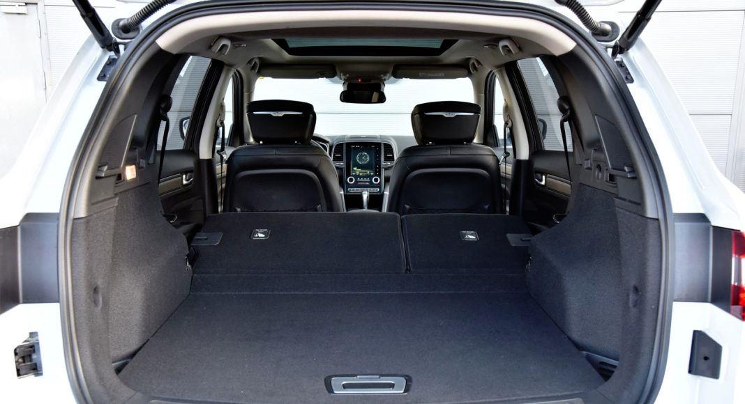 Renault Koleos - powiększony bagażnik