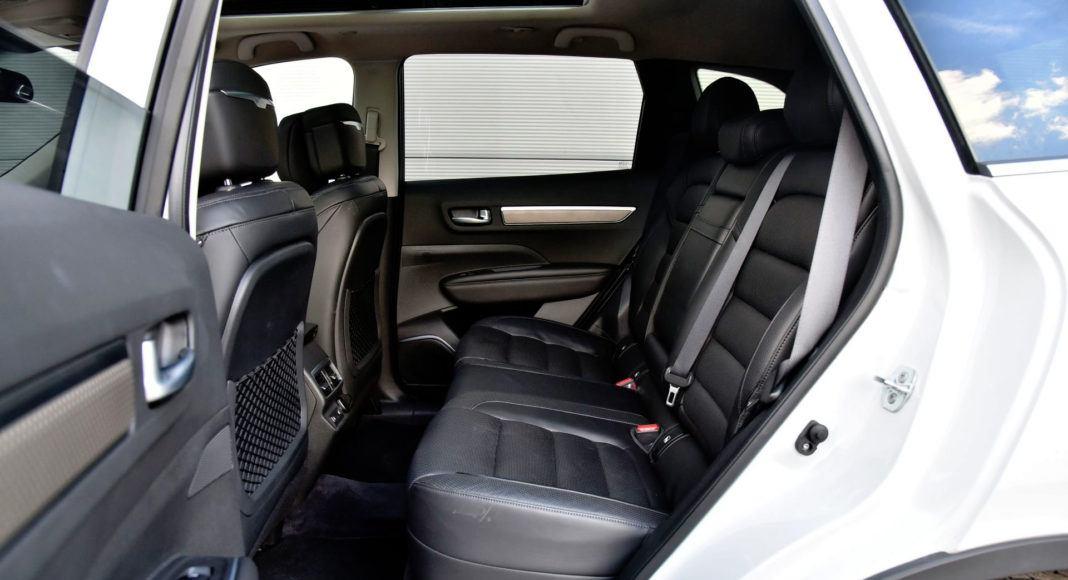 Renault Koleos - tylna kanapa