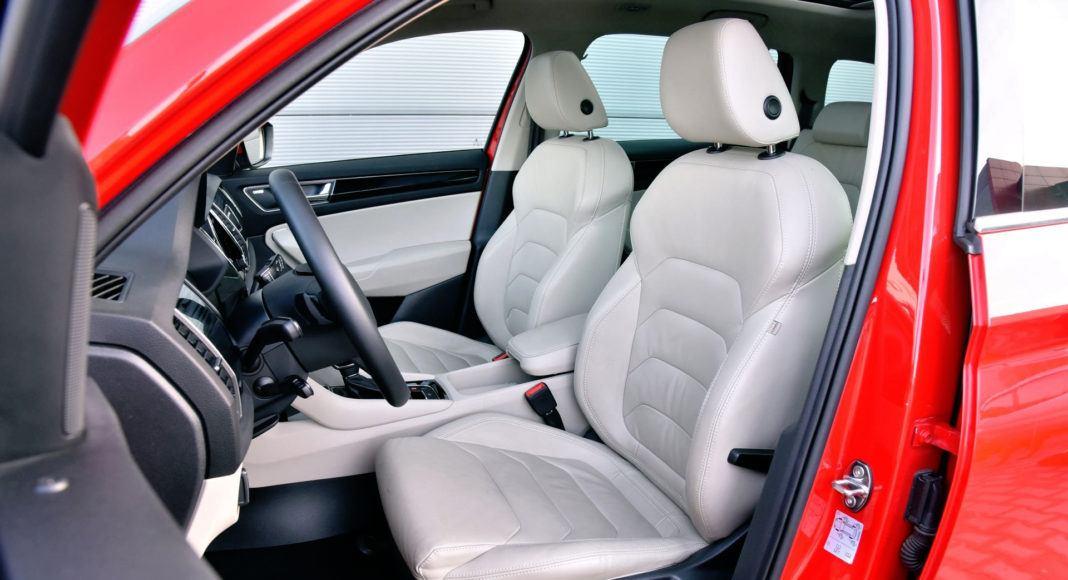 Skoda Kodiaq - fotel kierowcy