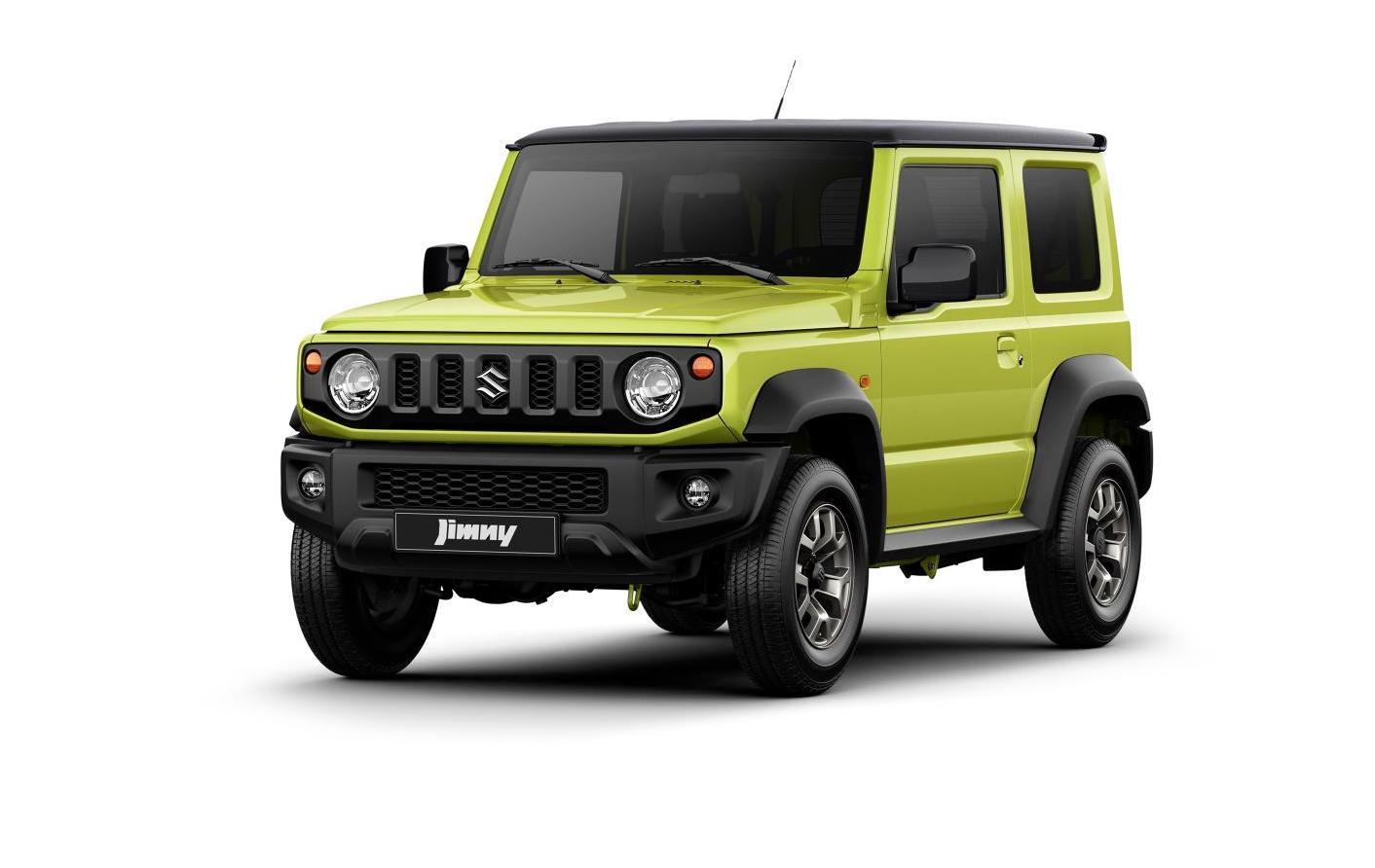 Modish Nowe Suzuki Jimny – czwarta generacja małej terenówki – informacje HL43