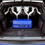 Tesla Model X - bagażnik