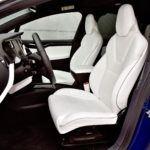 Tesla Model X - fotel kierowcy