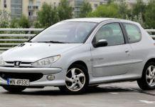 Używany Peugeot 206 - przód