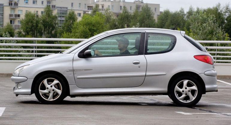 Używany Peugeot 206 - bok