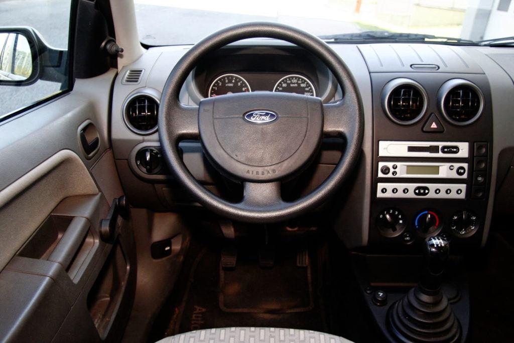 Używany Ford Fusion - wnętrze