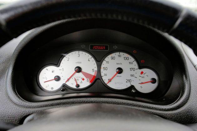 Używany Peugeot 206 - wskaźniki