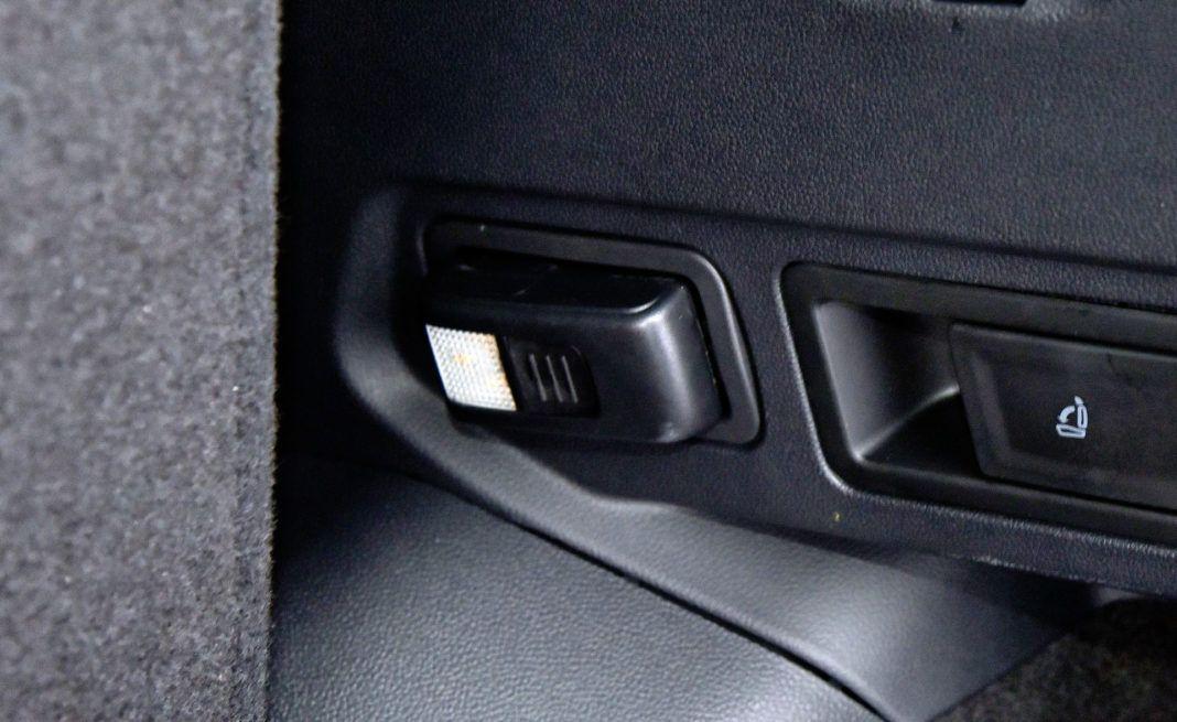Volkswagen Tiguan - latarka