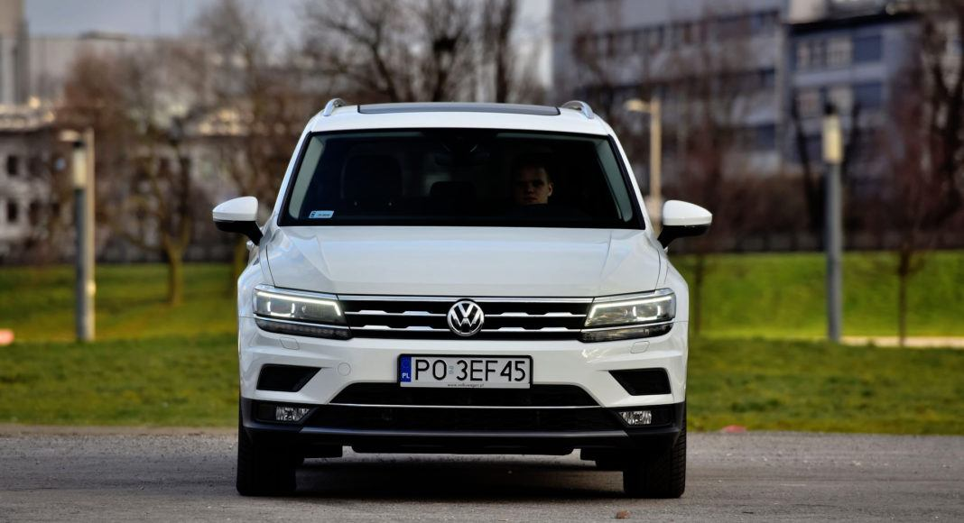 Volkswagen Tiguan - przód