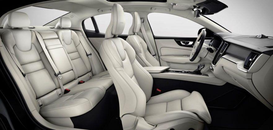 Nowe Volvo S60 - fotele