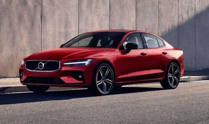 Nowe Volvo S60 - przód