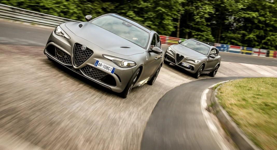 Alfa Romeo Giulia i Stelvio Quadrifoglio NRing