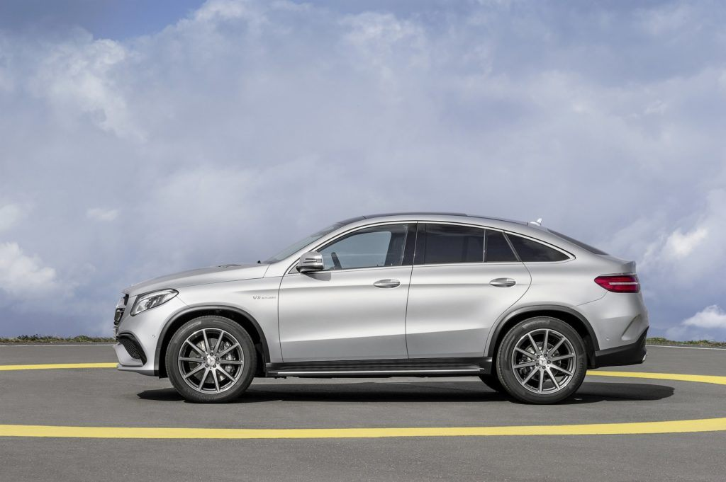 Mercedes GLE Coupe (C292; 2015)