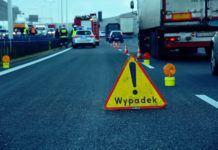 Wypadek na autostradzie