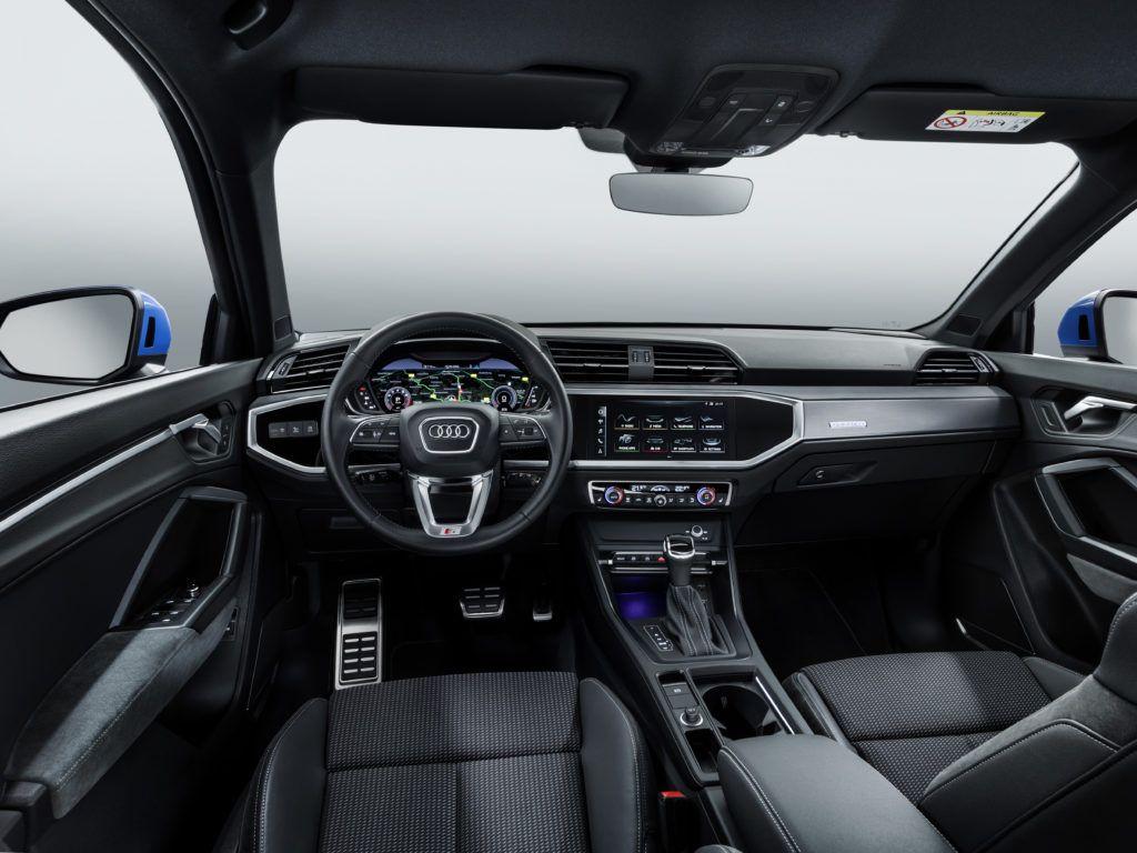 Audi Q3 (kokpit)