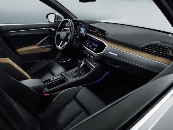 Audi Q3 (wnętrze)