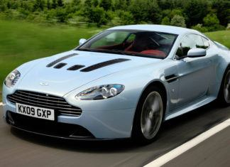 Aston Martin V12 Vantage - dane techniczne
