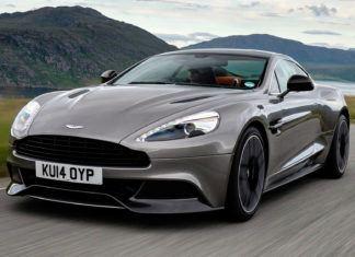 Aston Martin Vanquish - dane techniczne