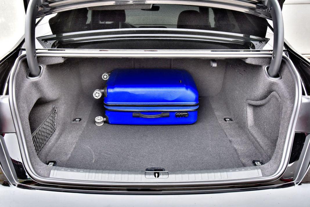 Audi A6 - bagażnik