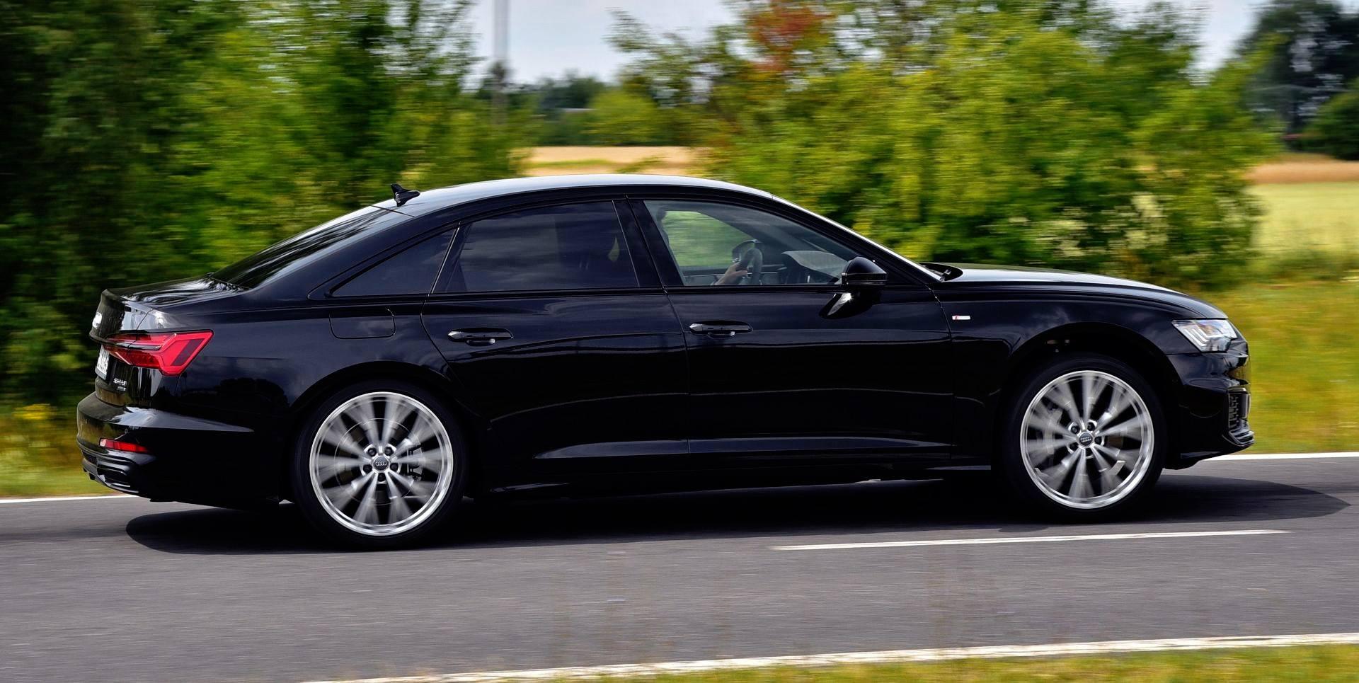 Audi A6 - dynamiczne