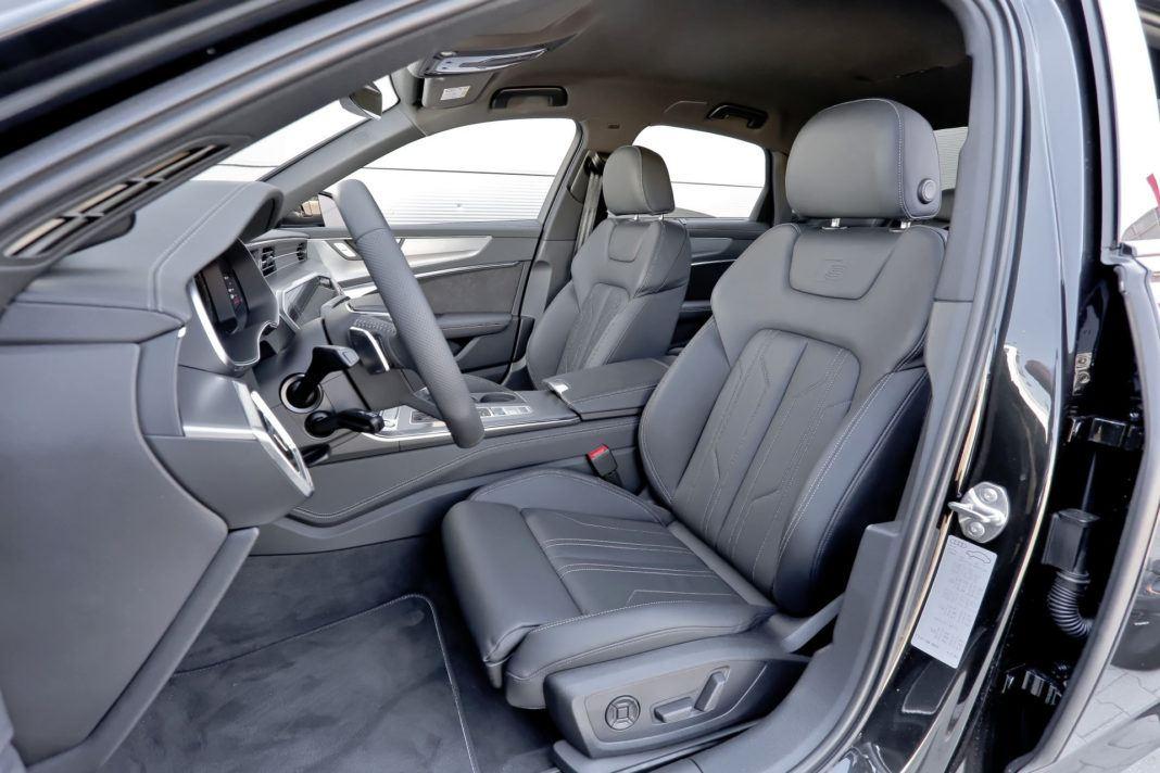 Audi A6 - fotel kierowcy