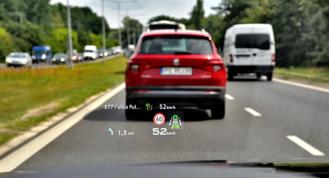Audi A6 - head-up