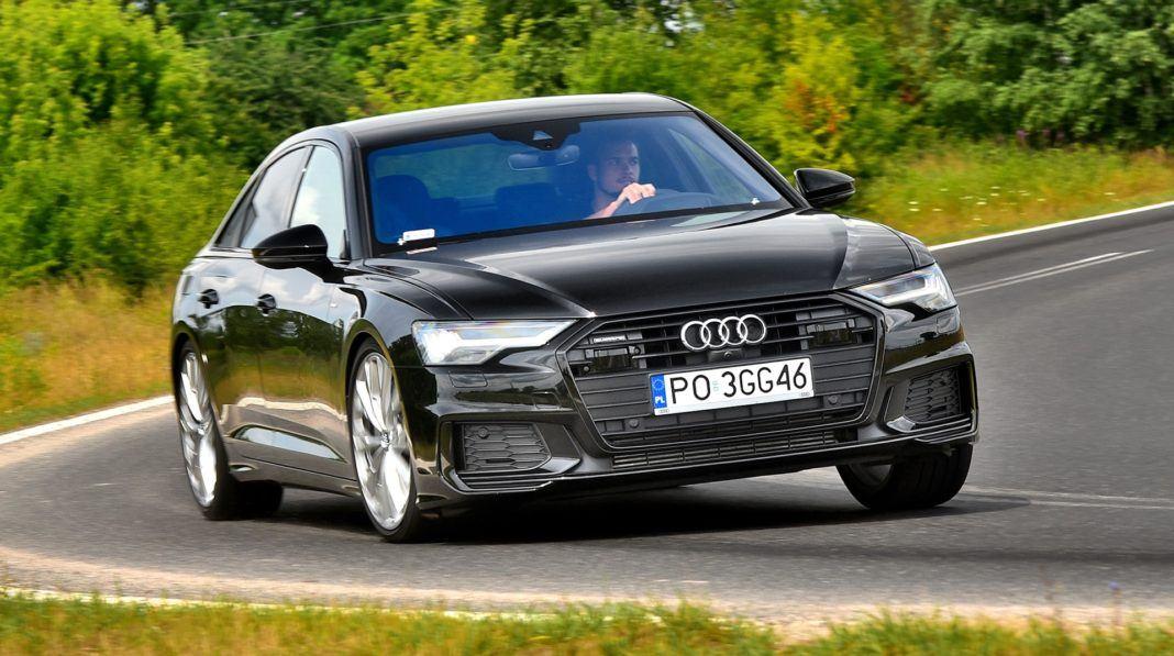 Audi A6 - otwierające