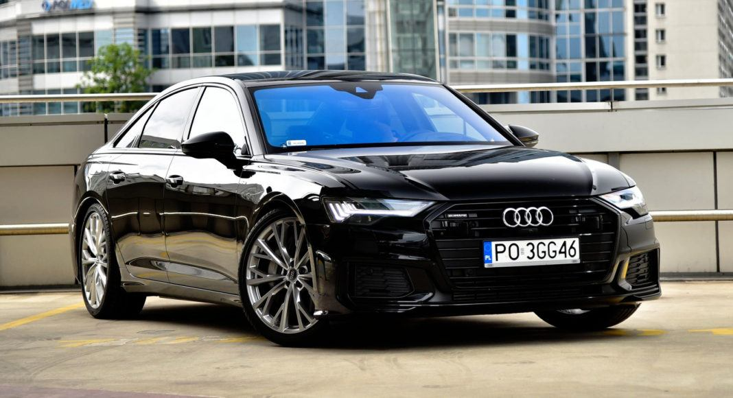 Audi A6 - przód