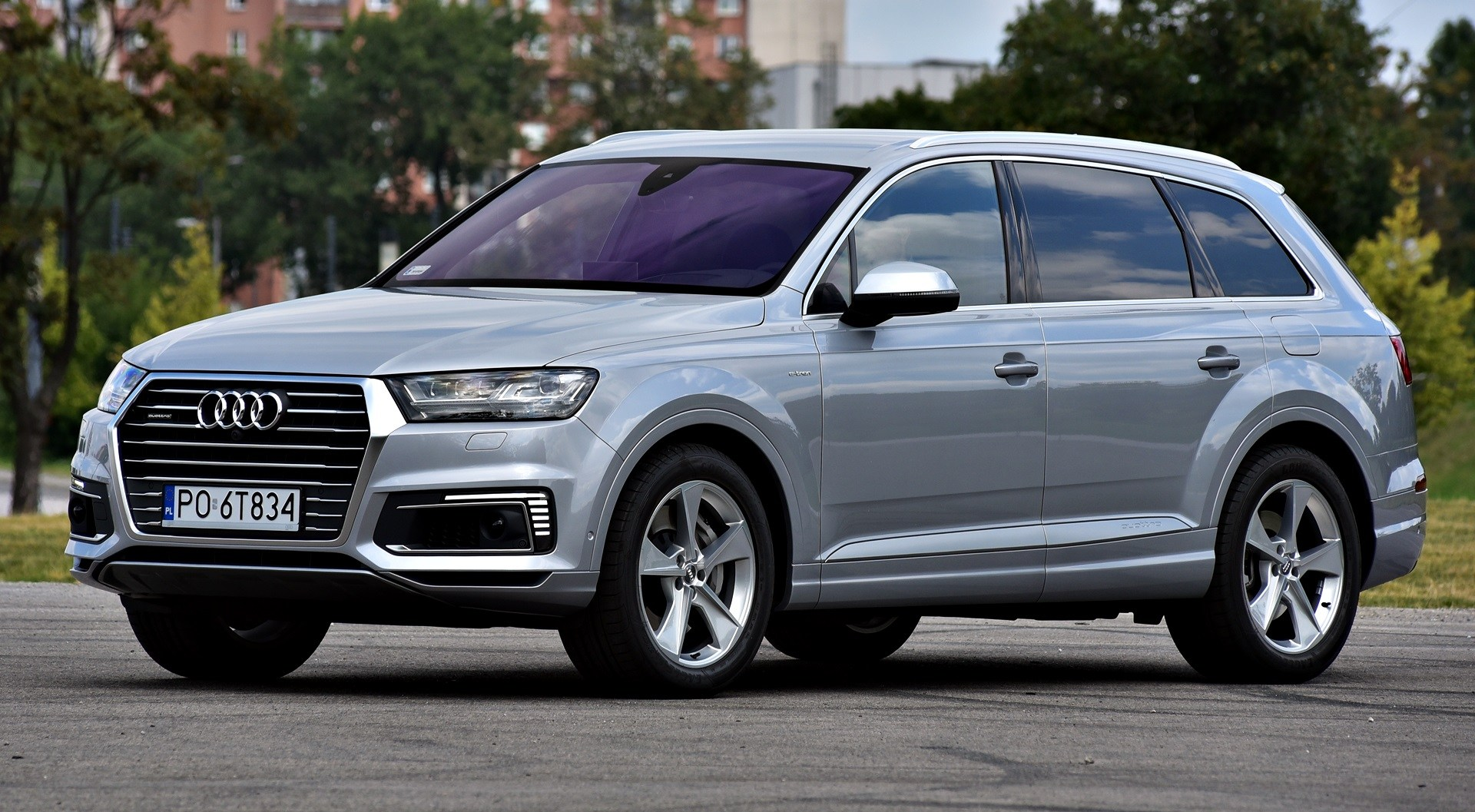 Audi Q7 Dane Techniczne