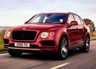 Bentley Bentayga - dane techniczne