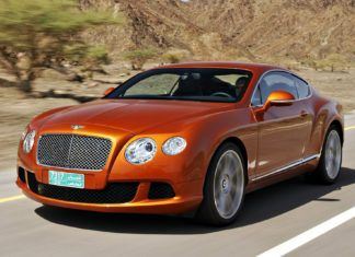 Bentley Continental - dane techniczne