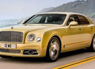Bentley Mulsanne - dane techniczne