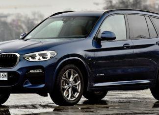 BMW X3 - dane techniczne
