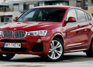 BMW X4 - dane techniczne