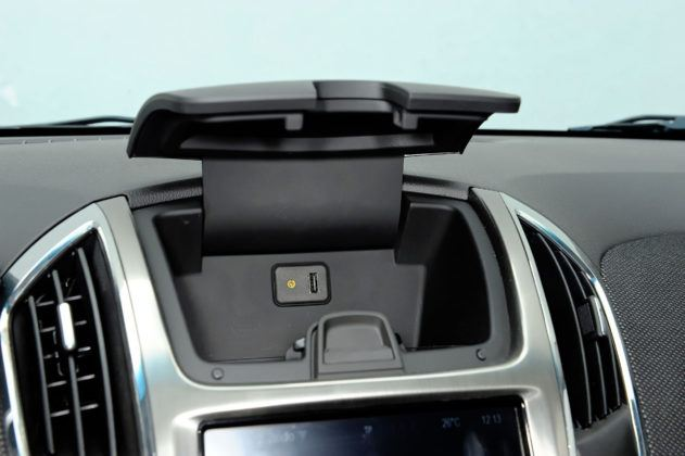 Chevrolet Cruze - schowek