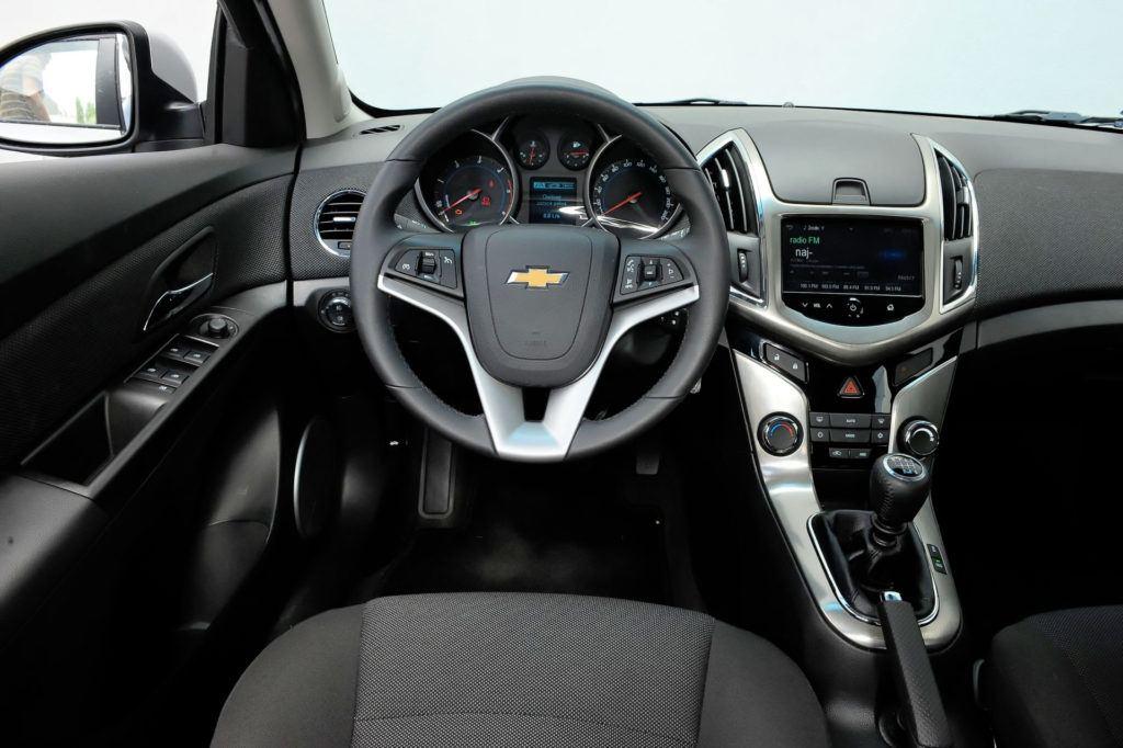 Chevrolet Cruze - wnętrze
