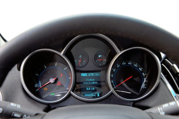 Chevrolet Cruze - wskaźniki