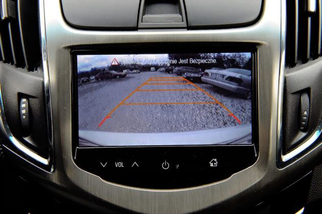Chevrolet Cruze - wyświetlacz
