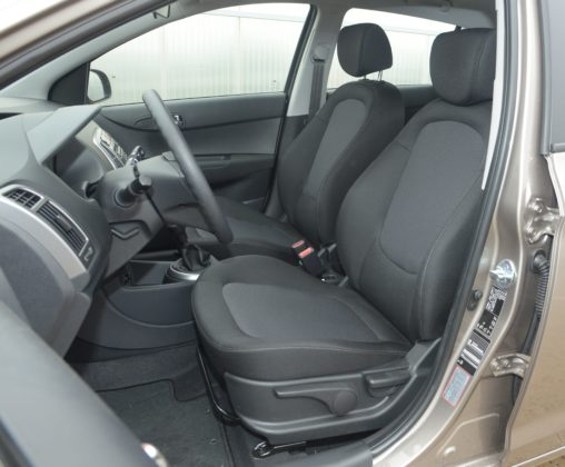 Używany Hyundai i20 - fotele