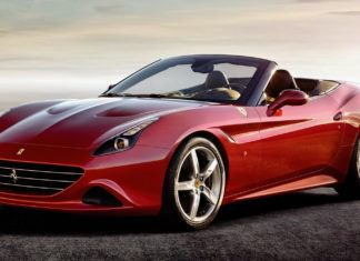 Ferrari California - dane techniczne