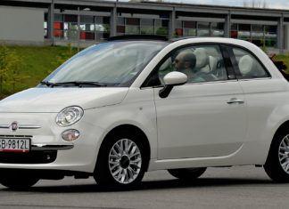 Fiat 500C - dane techniczne