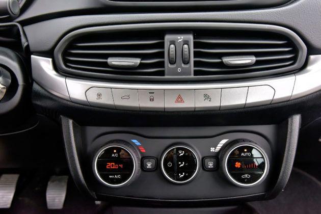 Fiat Tipo - klimatyzacja i deska rozdzielcza
