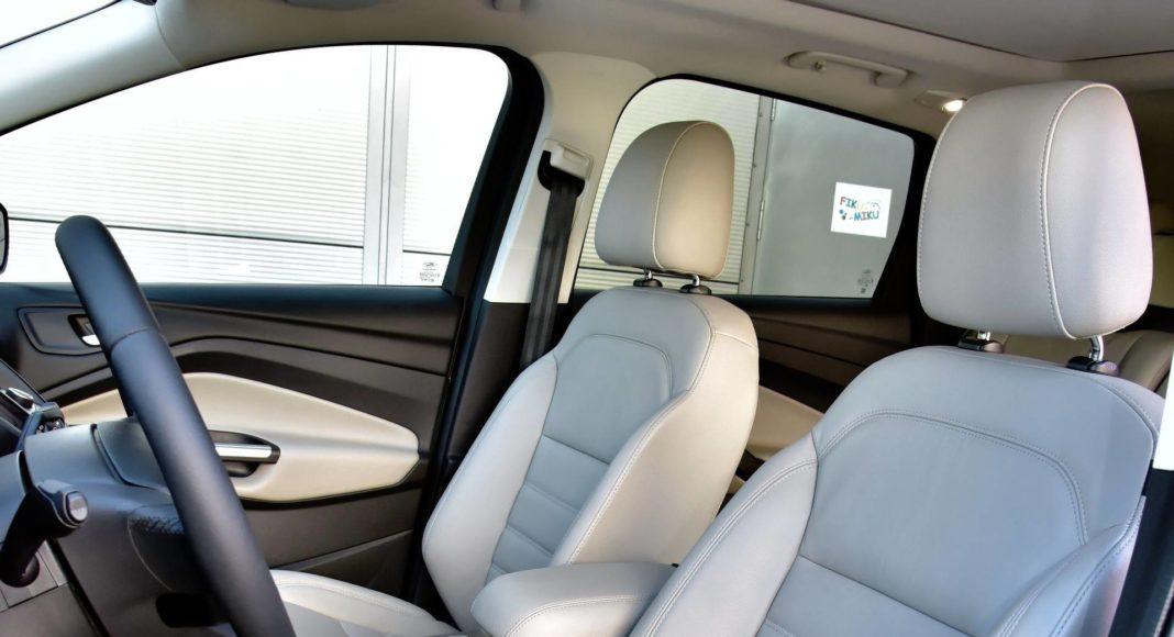 Ford Kuga - fotel kierowcy