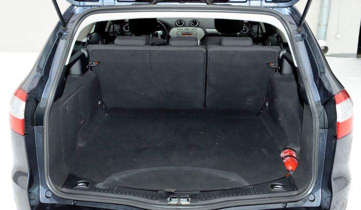 Ford Mondeo IV - bagażnik kombi