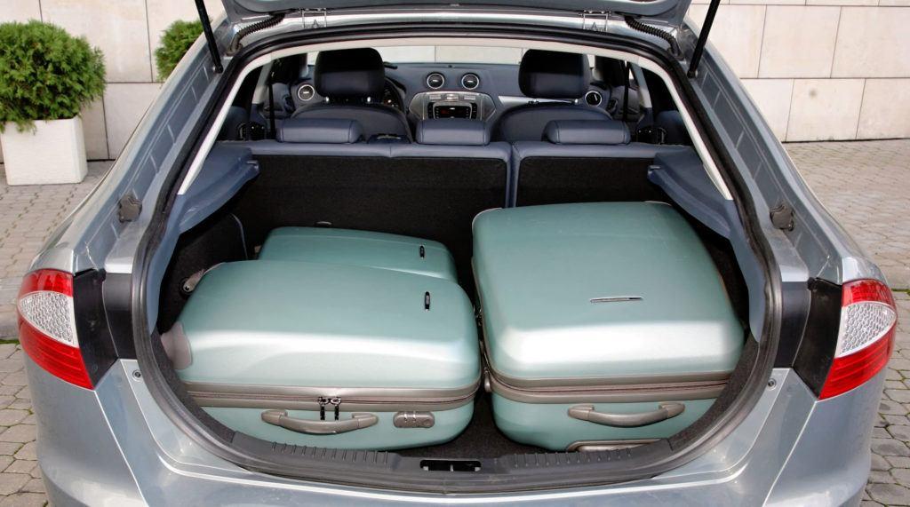 Ford Mondeo IV - bagażnik liftback