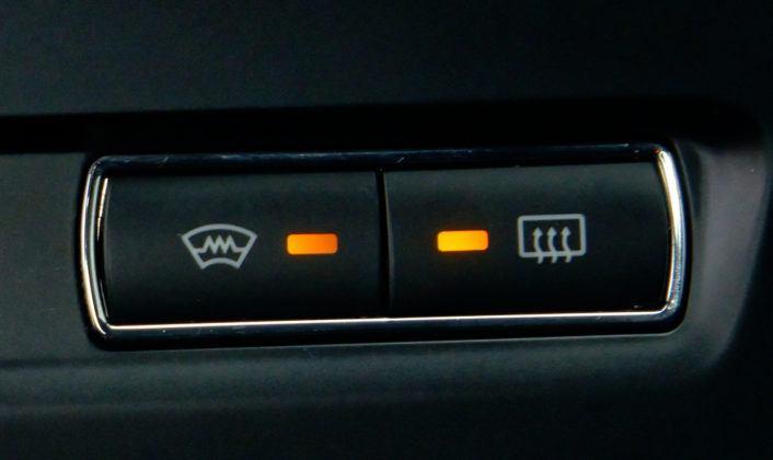 Ford Mondeo IV - podgrzewana przednia szyba
